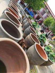 老大缸,老水缸, 保存完整 品相如图 包老  夏季放庭院 养鱼养花首选,600元一个 不包邮