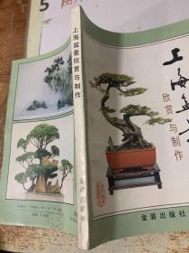 上海盆景欣赏与制作  有字迹