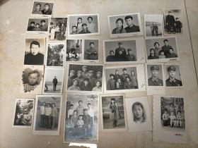 老照片一堆25张