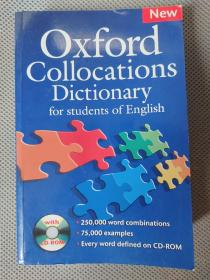 New Oxford Collocations Dictionary for student of English英文原版