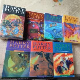 哈利波特等英文书(7本合售)Harry Potter and the Goblet of Fire