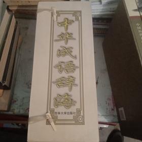 中华成语辞海上下(带盒子
