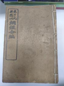 《袁了凡王凤洲纲鉴合编 附明纪纲目》 光绪30年版 16册