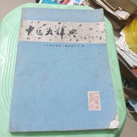 中医大辞典:医史文献分册