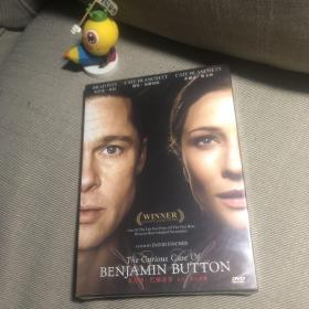 未拆封 DVD The Curious Case of Benjamin Button本杰明·巴顿奇事,又名:奇幻逆缘、返老还童、班杰明的奇幻旅程DVD布拉德·皮特、凯特·布兰切特、塔拉吉·P·汉