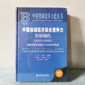 中国省域经济综合竞争力发展报告(2019-2020双循环新发展格局与中国经济发展2021版)(精装本      正版新书未开封