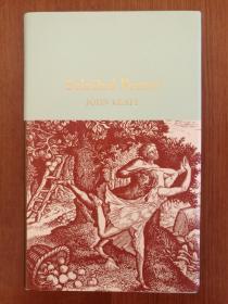 John Keats: Selected Poems(布面精装口袋诗集)(现货,实拍书影)