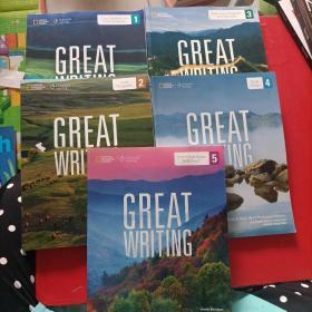 GREAT WRITING 1-5和售  1/2/3/4/5