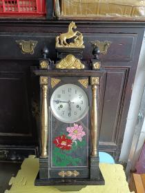文革出品北极星牌马头挂钟,15天,品好完整,有1973年购钟发票及说明书,180元包邮,发邮局包裹
