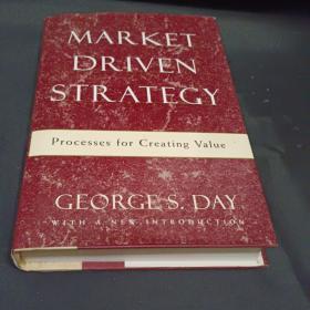 Market Driven Strategy: Processes fo