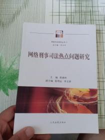 网络司法研究丛书:网络刑事司法热点问题研究