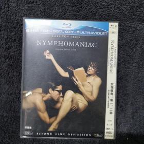女性瘾者 第二部  DVD9  光盘 碟片 外国电影 (个人收藏品) 一张盘