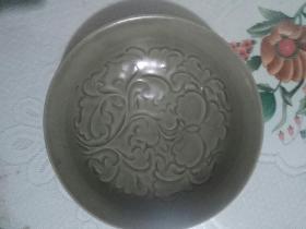 耀州窑剔花碗