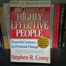 The 7 Habits of Highly Effective People:Powerful Lessons in Personal Change