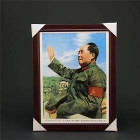 毛主席瓷板画文革老物件