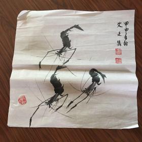 艾廷隽国画【42厘米x42厘米】