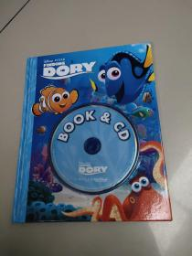 FINDING DORY(寻找多莉 BOOK & CD)有盘 没勾画
