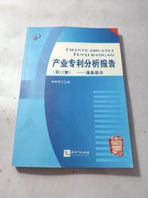 产业专利分析报告(第12册) 附光盘