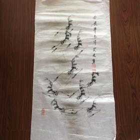 艾廷隽国画【100厘米x53厘米】