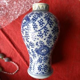 清代青花观音瓶