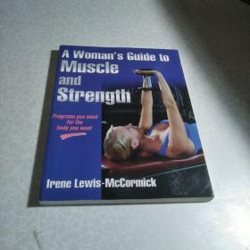 A Woman's Guide to Muscle and Strength(女性肌肉和力量指南)英文原版