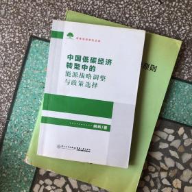 中国低碳经济转型中的能源战略调整与政策选择