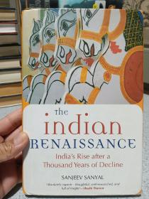 2008年,英文原版,精装带书衣,罕见,孔网唯一,印度印刷初版本,印度文艺复兴,the Indian renaissance
