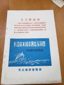 长江轮木船常用信号简图