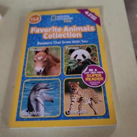 National Geographic Readers: Favorite Animals Collection 英文原版