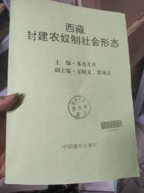 西藏封建农奴制社会形态 复习本