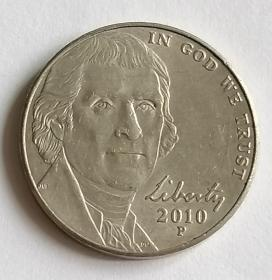 美国5美分保真