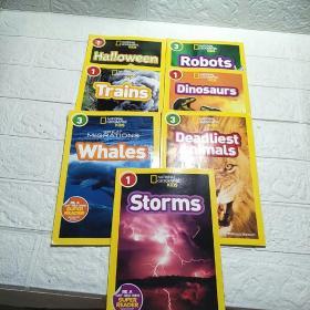 (National Geographic Kids: Level 1、3) 7本合售 平装 32开 详情看图