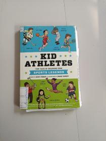 KID ATHLETES:TRUE TALES OF CHILDHOOD FROM SPORTS LEGENDS(儿童运动员:体育传奇中的童年真实故事)