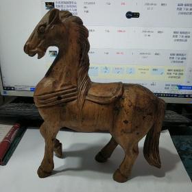 中央美院雕塑专业老教授上课用的纯手工雕刻的木马模型 一只,文革前后的东西,存于csmt旁