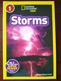National Geographic Readers: Storms!【正版全新】