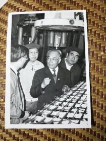 中国科学院院士程庆国(著名桥梁专家)照片一张尺寸15.5ⅹ10.8cm