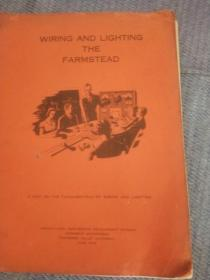 wieing and lighting the farmstead(1942年16开