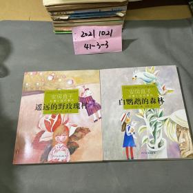 遥远的野玫瑰村:安房直子幻想小说代表作④+ 白鹦鹉的森林:安房直子幻想小说代表作③ 2册合售