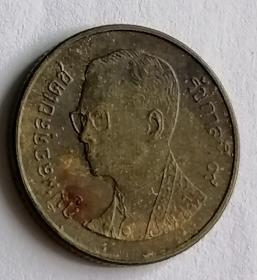 泰国硬币25萨当保真