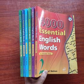4000 Essential English Words(Book 1~6 with Answer Key)(英文原版)