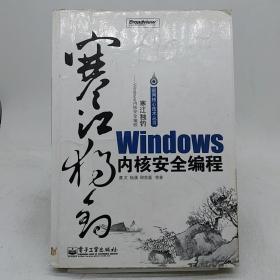 寒江独钓:Windows内核安全编程   没光盘