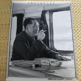 毛主席丝织画(真品)