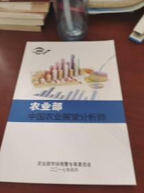 农业部中国农业展望分析师