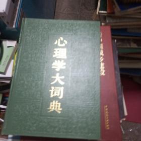 心理学大词典
