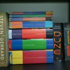 Harry Potter 哈利波特全七册 老版本全套 四本平装 三本精装 品相好 无笔记划线 保正版 Bloomsbury 出版社