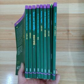 书虫牛津,英汉双语读物适合高二高三年级。沙洲之谜 共10册合售。