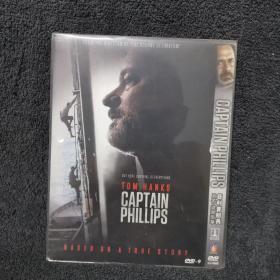 菲利浦船长 DVD9  光盘 碟片 外国电影 (个人收藏品)