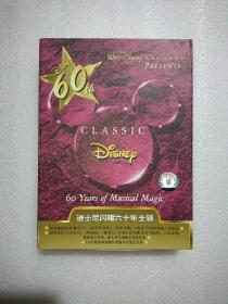 迪士尼闪耀六十年全辑 5CD+10本小书