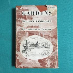 GARDENS IN THE MODERN LANDSCAPE (封套破损,内如新)