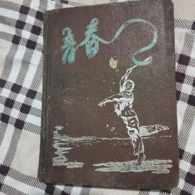 《青春》笔记本布面精装